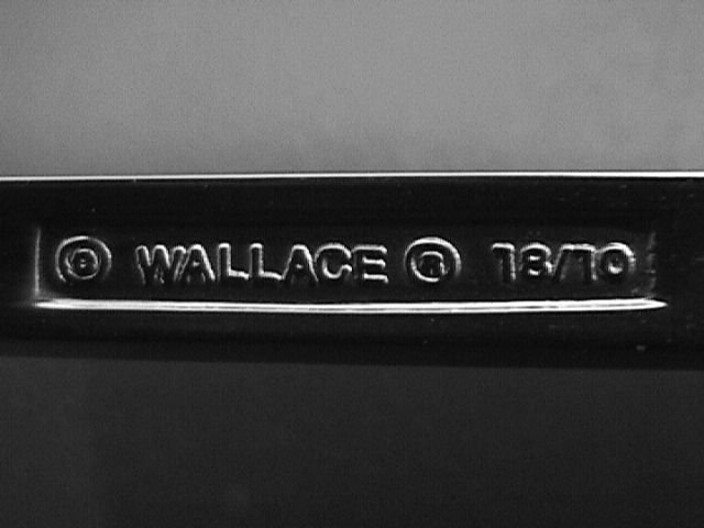 Wallace Stainless 18/10