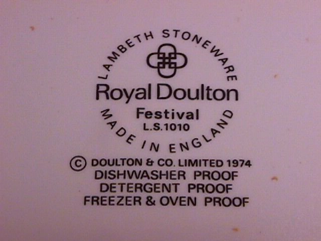 Royal Doulton Lambeth Stoneware