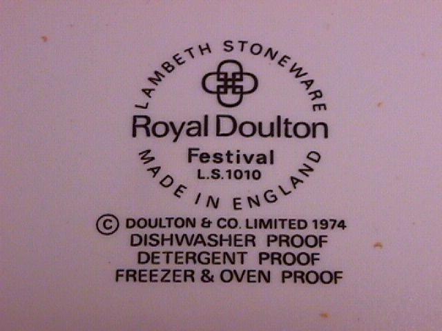 Royal Doulton Lambeth Stoneware