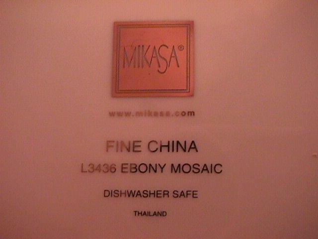 Mikasa Fine China