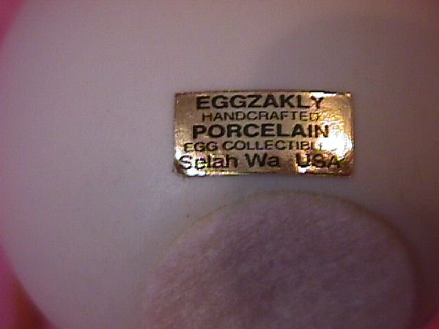 Egg Zakly Porcelain
