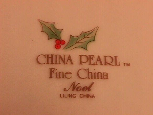 China Pearl Fine China
