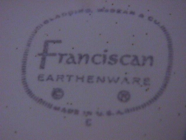 Franciscan China