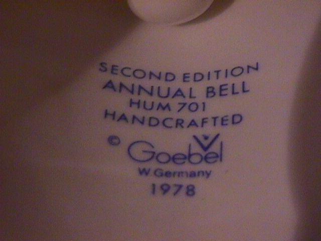 Hummel Annual Bell=1979= 2nd Edition: Farewell