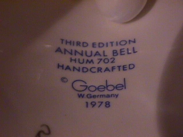 Hummel Annual Bell=1980= 3rd Edition: Thoughtful