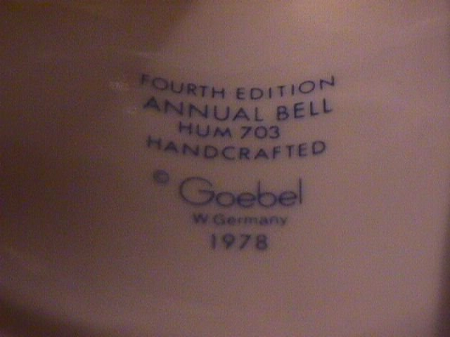 Hummel Annual Bell=1981= 4th Edition: In June