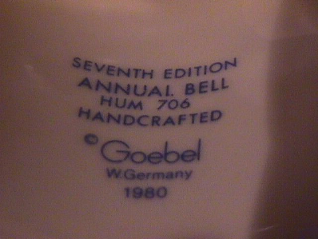 Hummel Annual Bell=1984= 7th Edition:  Mountaineer