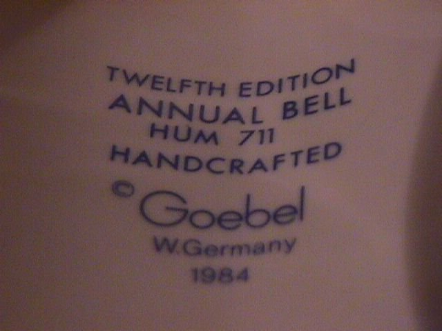 Hummel Annual Bell=1989= 12th Edition: Latest News