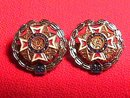 2 Ladies Auxilary V.F.W. Year Pins