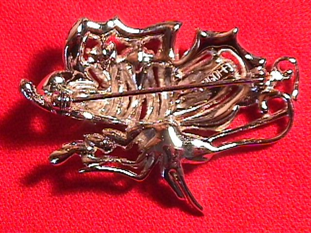 Bogoff Signed Butterfly Brooch