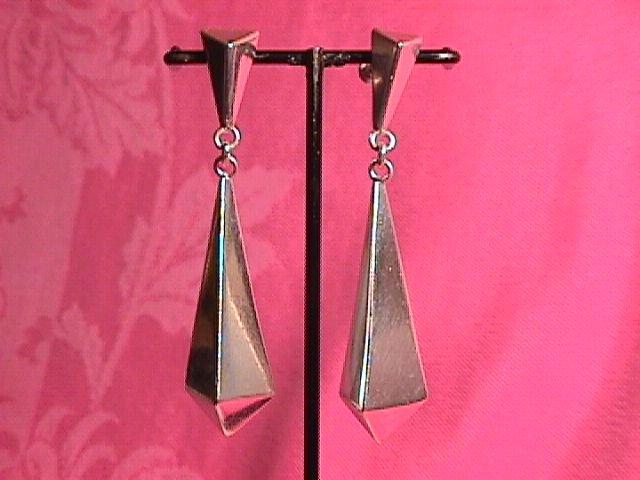Mexico Sterling (Modernist) Earrings