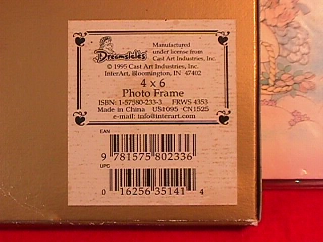 Dreamsicles Collectibles Photo Frame