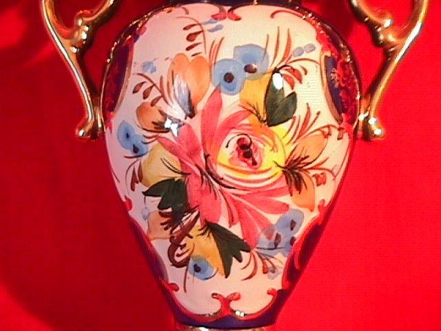 RB Alcobaca Portugal Art Pottery Vase