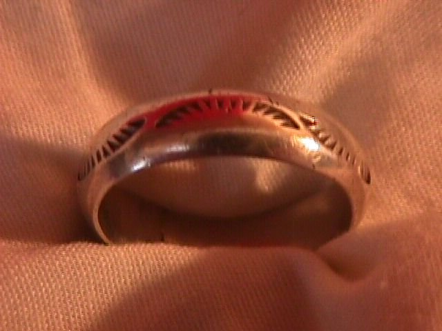 Heavy Sterling (Native American) Gents Ring