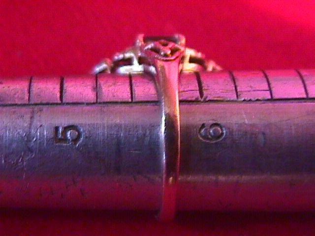 10K Solid Gold Vintage Amethyst Ring
