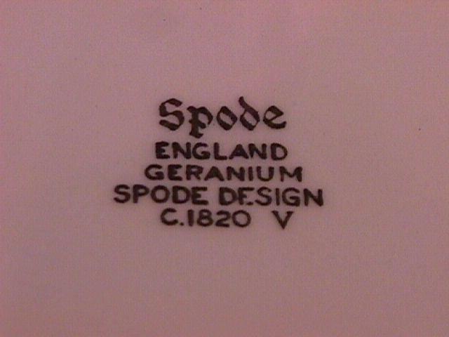 Spode Fine Porcelain