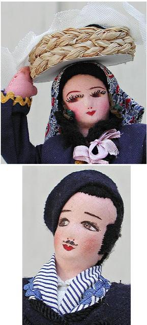 Pair  Dolls 12