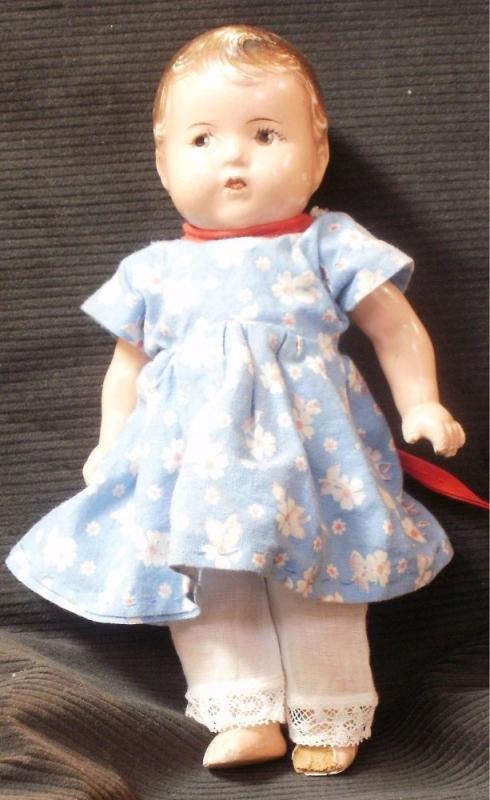 Dionne Quintuplet Alexander Doll Composition 7 1/2
