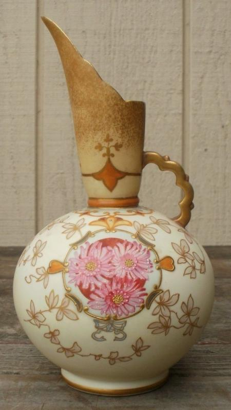 Antique Staffordshire ART Pottery Pointon Stoke on Trent Vase Pitcher