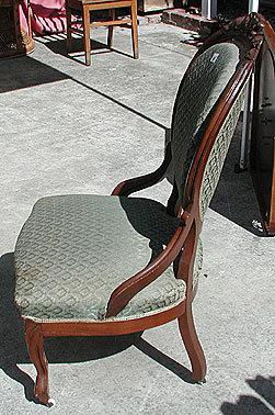 Antique Victorian Parlor Chair