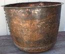 Large Antique Copper Pig Boiling Pot 29
