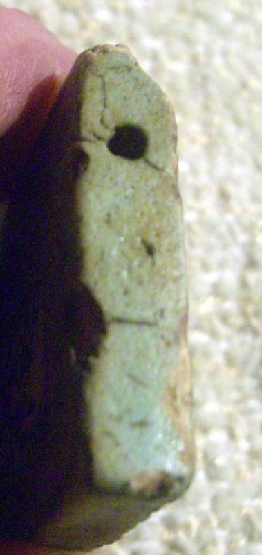 Ancient Egyptian Faience Eye  of Horus