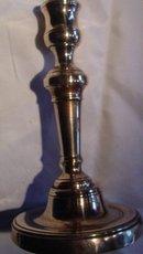 English Bell Metal Candlestick