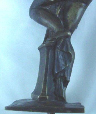 Pair Classical Swedish Bronzes