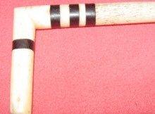 Scrimshaw Penis Bone Walking Stick