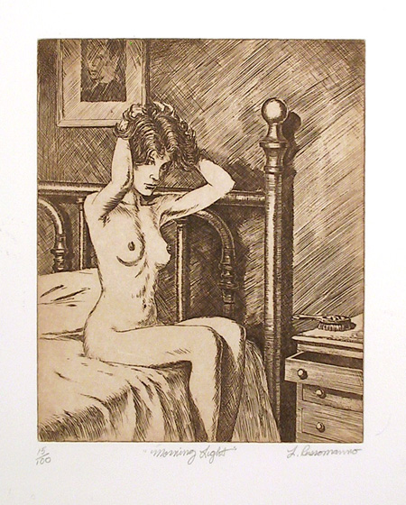 Louis Russomanno, S/N Etching, Nude