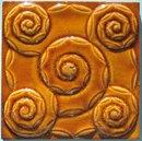 Antique German Jugendstil Tile - Servais