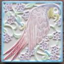 Rookwood Parrot Tea Tile - Rookwood