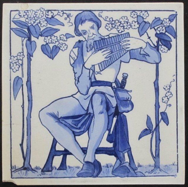 English Copeland Transfer Tile