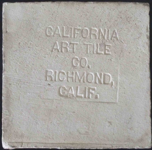 California Art Tile Company Arts & Crafts Tile