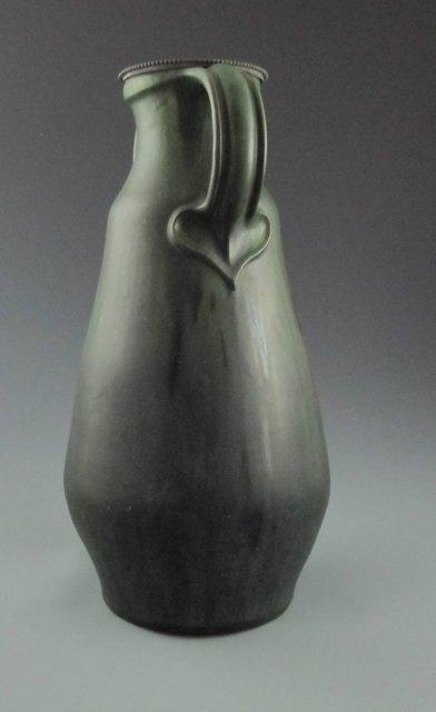 Antique Danish Arts & Crafts Pottery Floor Vase