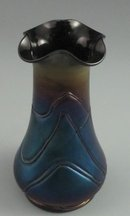 Antique Bohemian Art Glass Vase - Loetz?