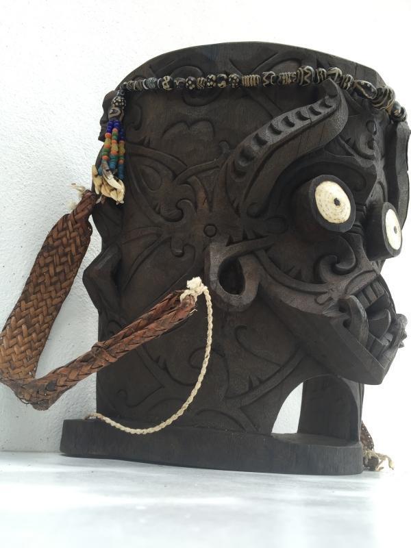 #2 NATIVE DAYAK BABY CARRIER Child Backpack Knapsack Sling Bag Duffel BORNEO