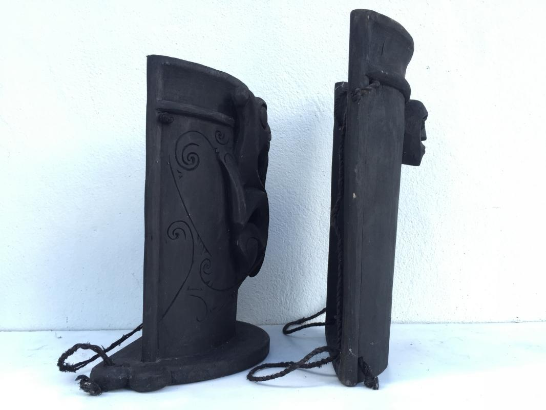 ONE PAIR 360mm DAYAk BABY CARRIER Tribal Child Backpack Sling Bag Native BORNEO