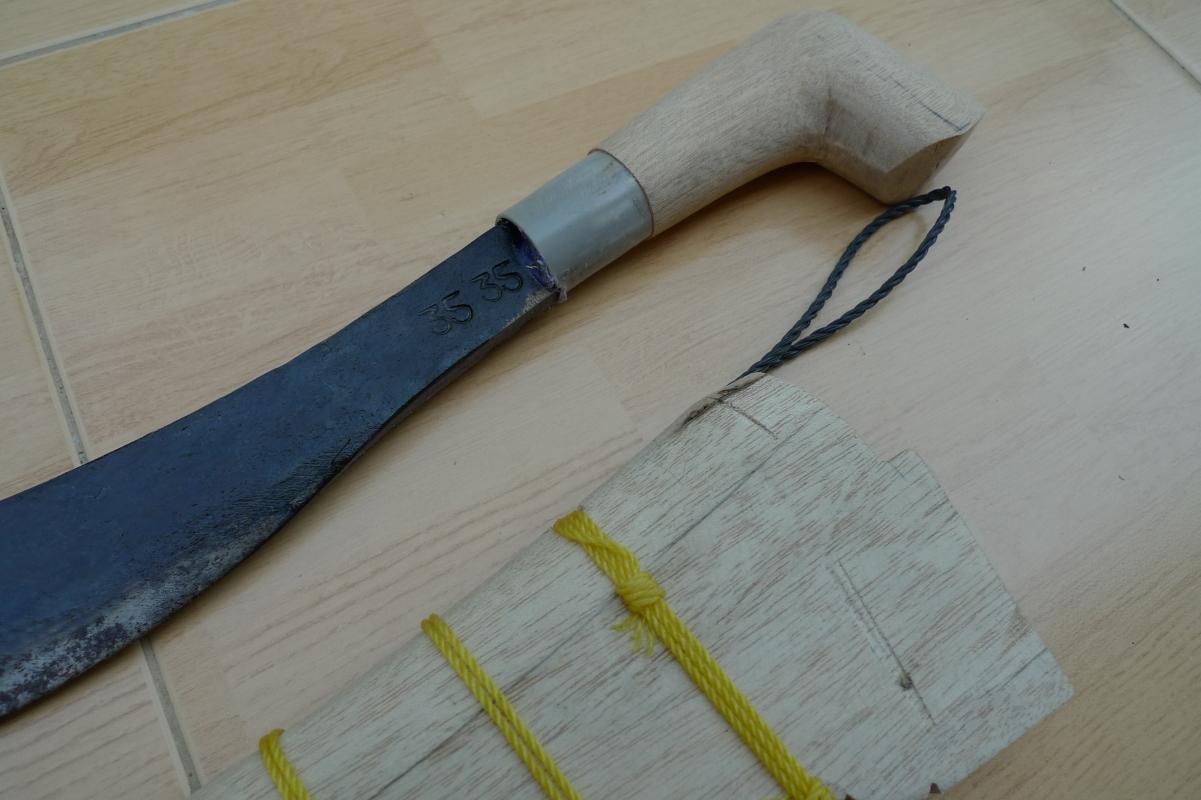 (Pattern #2) BEST SELLER 12inch BUSH KNIFE Jungle Gardening Parang Sword Camping
