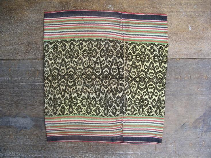 IKAT BIDANG Skirt DRESS Borneo ritual Dance Textile SARONG LADIES GARMENT #34