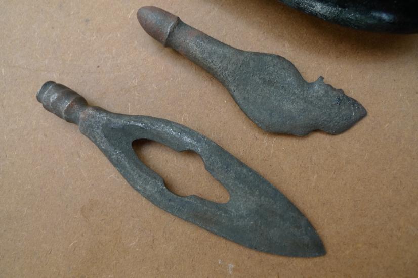 DOUBLE BLADE 105mm KERIS OBAT DUKUN / MEDICINE KRIS Weapon Knife Sword Dagger