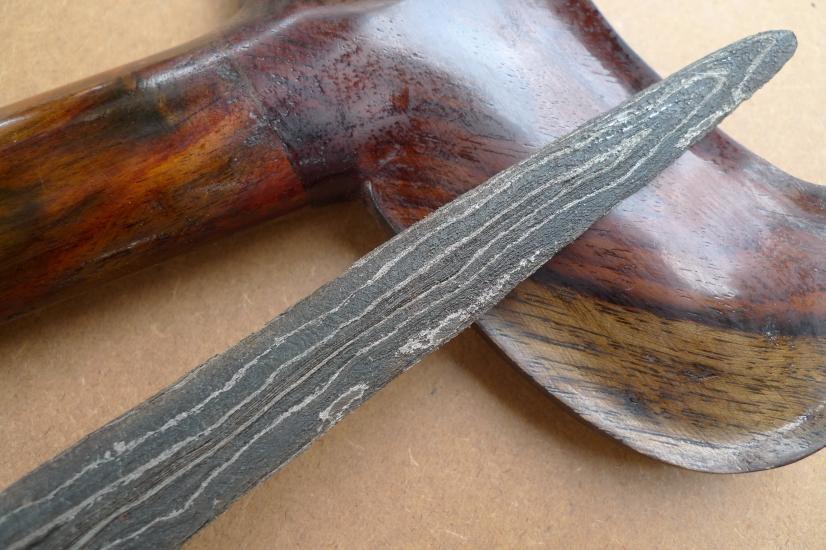 4.) KERIS PAMOR ADEQ 3 Luk (BLACK MAGIC PROTECTION) Knife Kris Sword