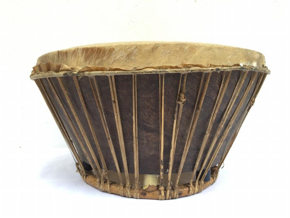 OLD AUTHENTIC 380mm TRADITIONAL Gendang Kendang Drum Percussion Instrument
