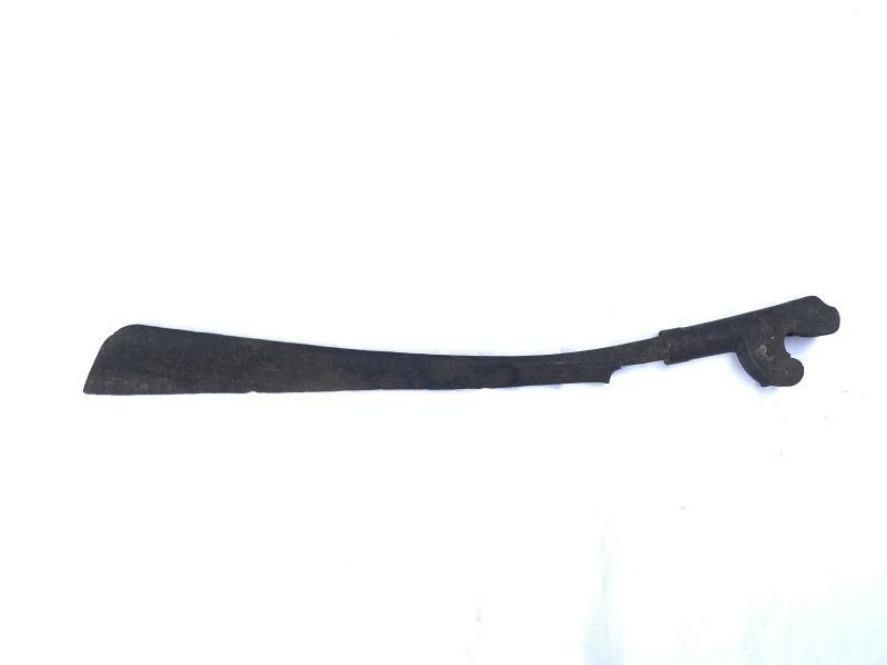 ANTIQUE 670mm DAYAK MELAWI SWORD Knife Weapon Dagger Keris Samurai Machete
