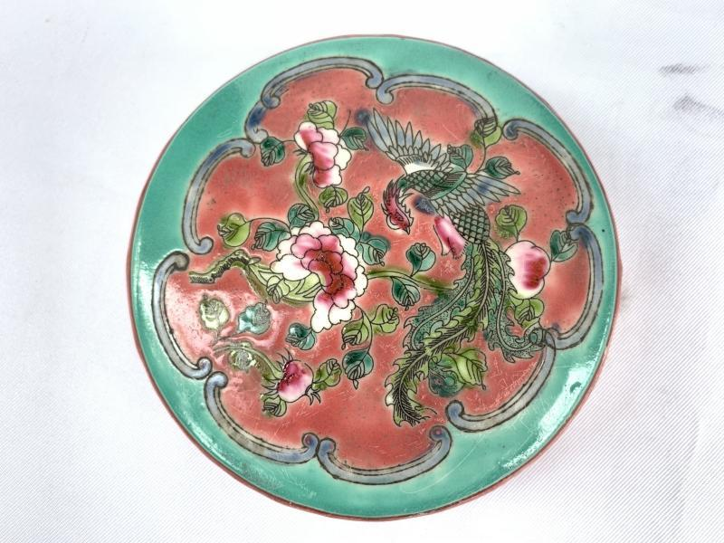 MEDICINE and HERB 160mm CERAMIC BOX Container Covered Jar Asia chinese art Porcelain