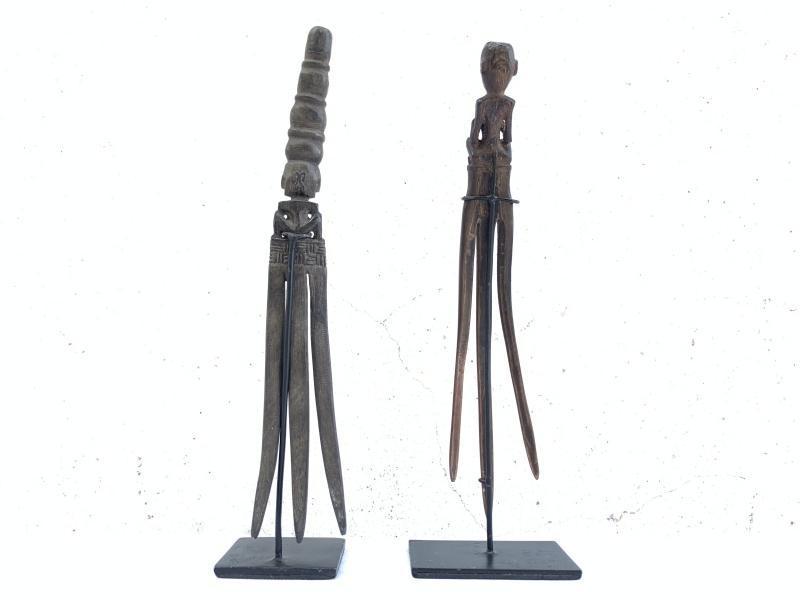 12.) TUSUK KONDE TANIMBAR Hairpin Women Crown Comb Headdress Jewel Jewelry Art