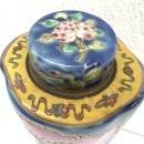 #2 BLUE TEA BOTTLE Nyonya Baba Restaurant Cafe Kitchen Home Collection Asean