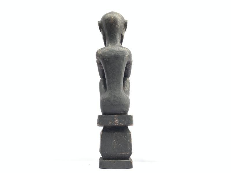 PATUNG TANIMBAR 440mm FERTILITY PENIS STATUE Sculpture Artefact Altar Figure