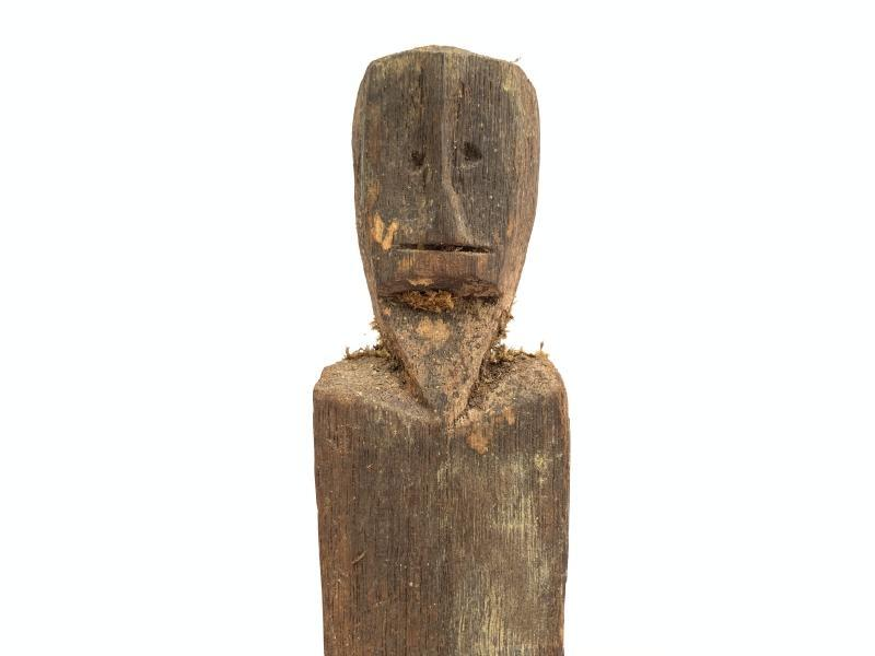 ANCESTRAL IBAN POLE Guardian Images Statue Sculpture Icon Figure Dayak Borneo #6
