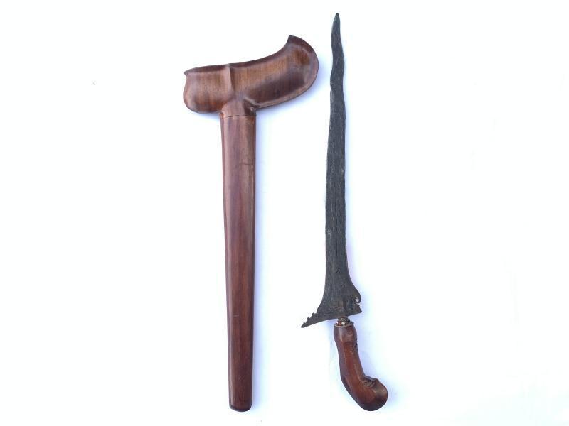 SANGGA BRJA 510mm KERIS 3 LUK Weapon Knife Sword Dagger Kris Blade Martial Art